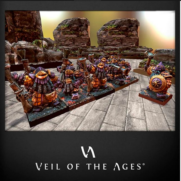 Veil of the Ages – Wargaming at the crossroads of miniatures